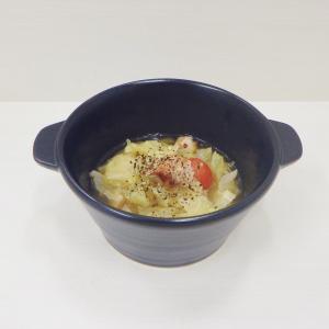 8/17ミニトマトが入ったベーコンとキャベツのスープ、味付韓国産のり ごま風味