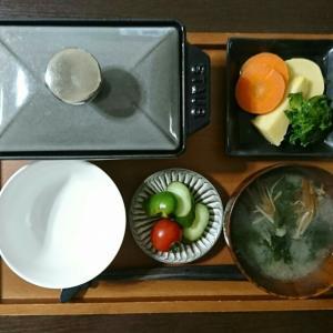 今季初タケノコと、スクランブルオンしたボウチャイ飯