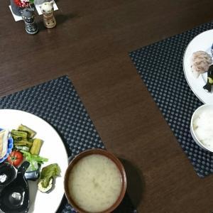 蒸し穴子、鯛、縞鰺お刺身♪マルボシ印ふくよか乾麺♪