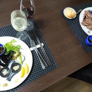 黒毛和牛コメカミ&タンと、レバノン赤ワインと♪♪♪