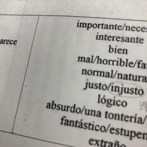 水曜スペイン語 自分の意見を言う練習 Me parece 〜
