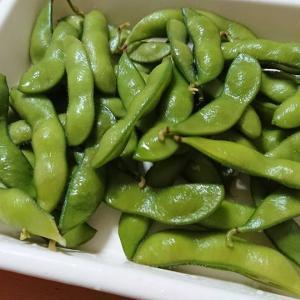 【薬膳】枝豆の茹で方と、しばしのお休み
