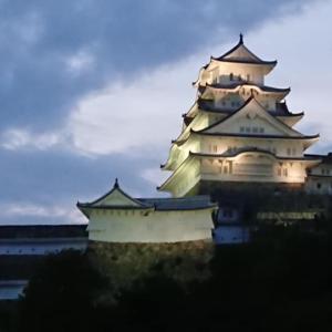 今宵は姫路城ライトダウン~ 星空を楽しみましょう!