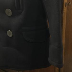 デキる男は、BONCOURAのPコート。。。