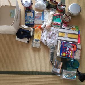 災害と備蓄品