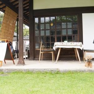 城下町のカフェ