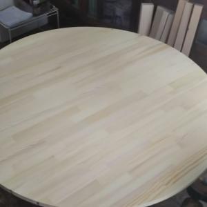 ラウンドテーブルの製作1 (動画あり)