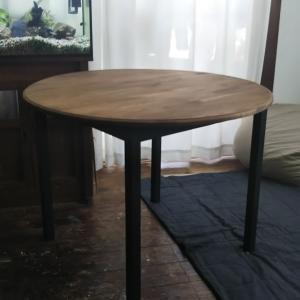 ラウンドテーブルの製作 4