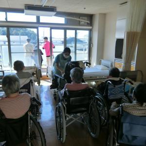 喜久寿苑「防火避難総合訓練を行いました。」