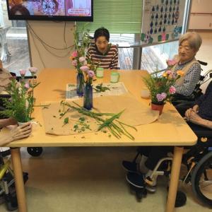 喜久寿苑 2階 生け花