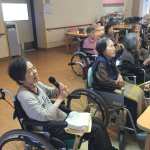 喜久苑2階 カラオケ大会