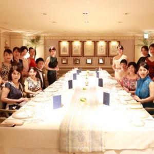 美しくも美味しいお食事 グラチェリュクス&JLAA party