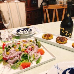おうちでスペインディナーを楽しむ。