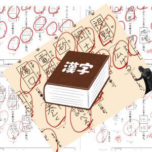 対面で漢字指導ー最初のテスト