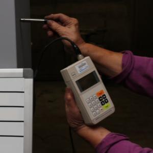 塗装の膜厚測定