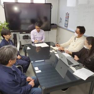 「さむかわ次世代経営者研究会・オンライン展示会」の動画撮影準備!!