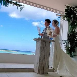 結婚式とフリートーク!!