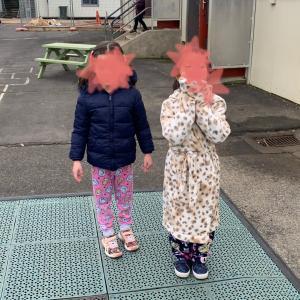 NZの学校の募金活動