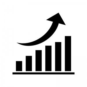 疲労のグラフと施術のグラフ