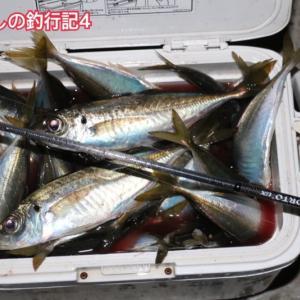初夏の産卵アジング~新アジングロッドの鱗付けも無事完了!!