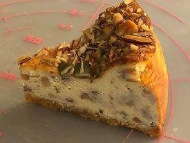 ナッツ盛り盛り!【低糖質】ごろごろナッツ・ベイクドチーズケーキ