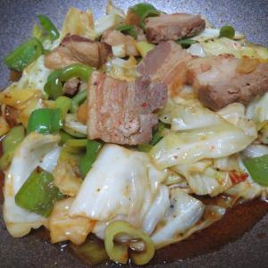 【料理】思い出の回鍋肉を再現してみた。