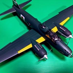 三菱一式陸上攻撃機11型・・・完成。