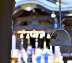 春日神社の風鈴