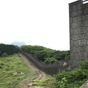 長崎雲仙珍八景!万里の長城ののような場所発見! #長崎 #雲仙 #万里の長城 #珍八景 #放牧 #牛