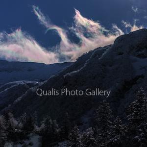 十勝岳・彩の雲が光るとき・・・