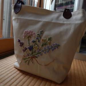 初めて作ったバッグ