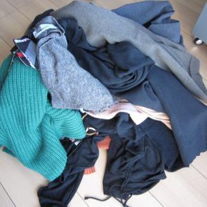 さあ、本格的に衣替え洗濯の始まりです。