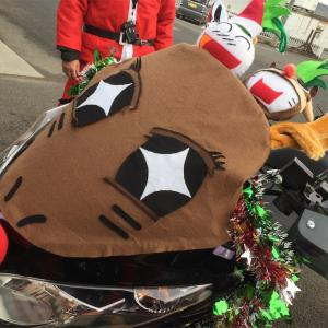 サンタパレード、スタート!