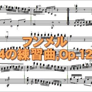 【DTMクラシック】フンメル/24のエチュード~第23番