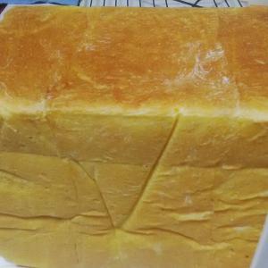 南瓜の角食パン。