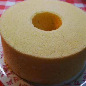 オレンジシフォンケーキ。