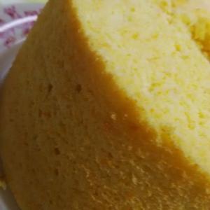 南瓜のミルクシフォンケーキ。