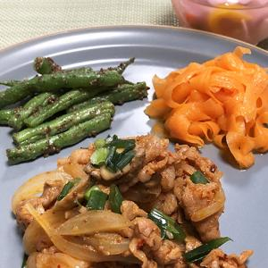 韓国ドラマ「椿の花咲く頃」からのトゥルチギ(豚肉と野菜の炒め煮)