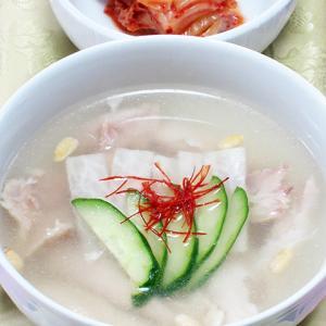 夏を乗り切る!冷製鶏スープ(チョゲタン)レシピです!