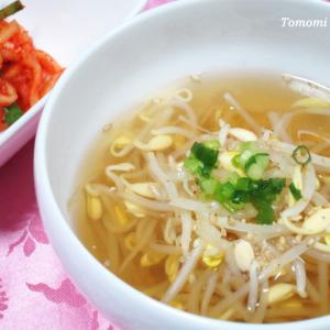 うま味調味料なしでも美味しく作れる豆もやしスープ!