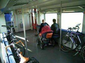 最も効率的な自転車活用・・・サイクルトレイン