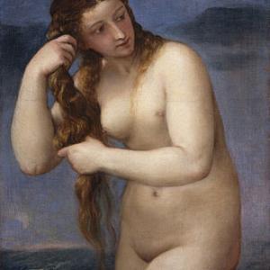 ティツィアーノ、ヴェネツィア、アレティーノ、バッカス、アリアドネ、、