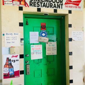 グアムで隠れ家的レストラン‼︎ ここを知ってたら鼻高♪ 勝 Green door
