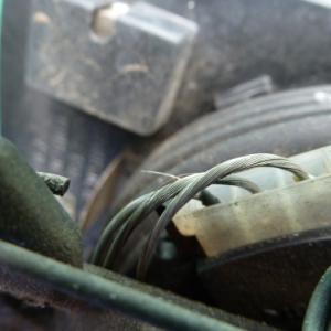 ベンツW202 ドアミラーハーネス修理