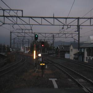 湯浅駅にて