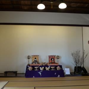旧伊藤博文金沢別邸の雛飾り