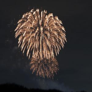 昨夜の横浜市大の花火