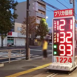 週末のガソリン、灯油価格