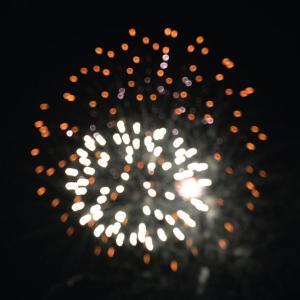 シークレット花火がみれました