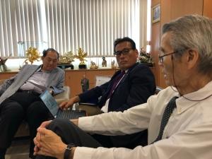 タイの財閥サハグループ面談